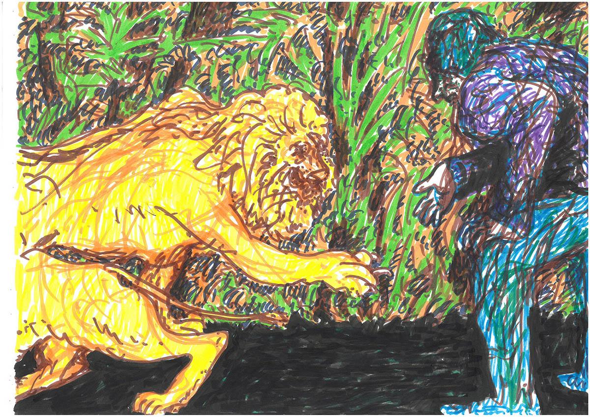 Marc Truckenbrodt Zeichnung 3