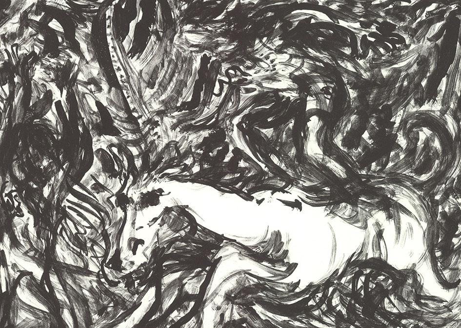 Marc Truckenbrodt, 61 min, Tusche-Lithographie