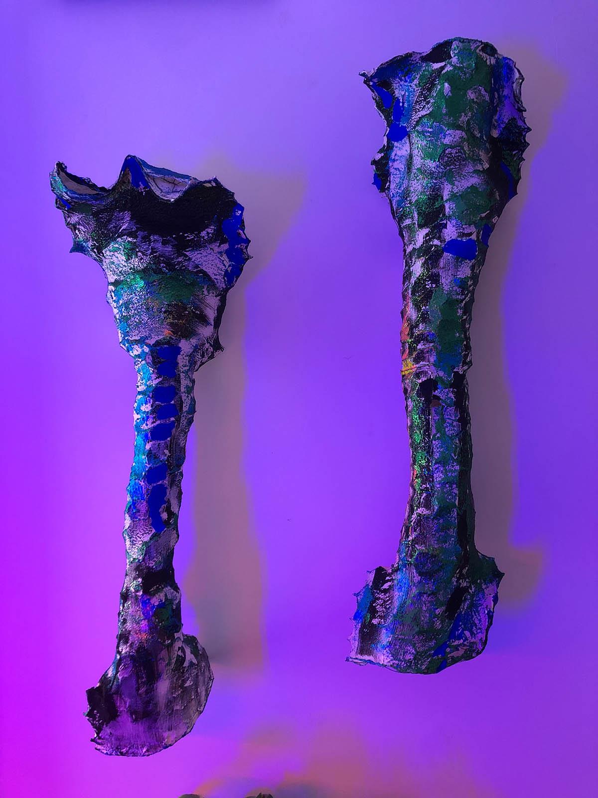 Lynda Benglis, Butterflies, 2015
