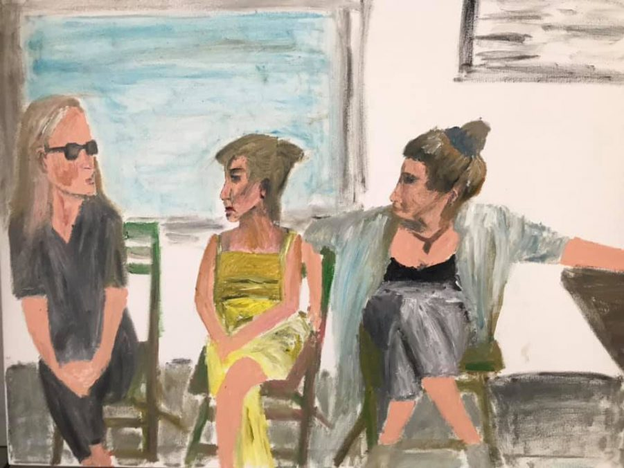 waitresses without a task, 120x60,