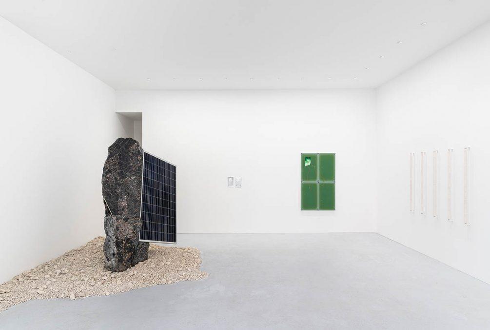 Installation view, inventing the past, max goelitz, 2021   Photo: Dirk Tacke