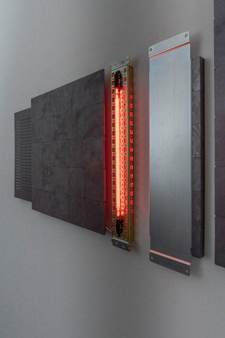 Ausstellungsansicht, inventing the past, max goelitz, 2021   Foto: Dirk Tacke