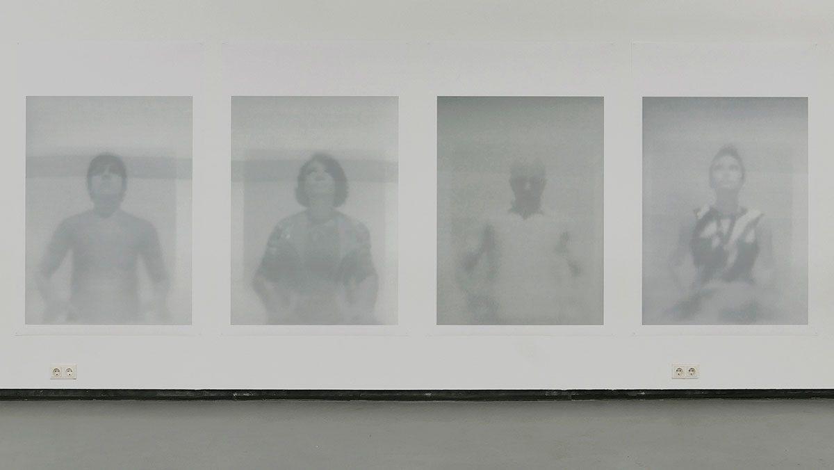 Exhibition view at Fotogalerie Wien, Maximiliane Leni Armann