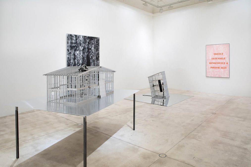 Monica Bonvicini, Stagecage, courtesy Galerie Krinzinger and the artist, photo Anna Lott Donadel