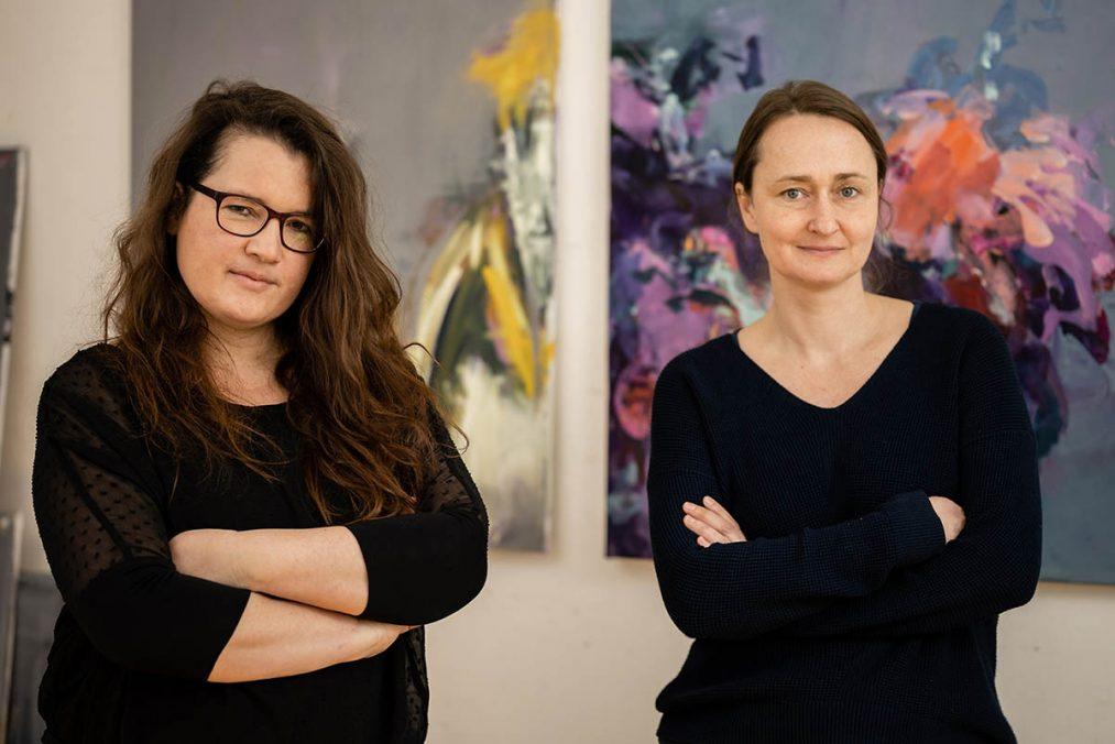 Monika Herschberger und Karin Czermak, Foto: Klaus Ranger