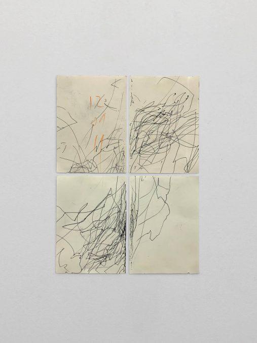 The Subtle Prompter, Tinte auf Papier, 42x30cm, 2019