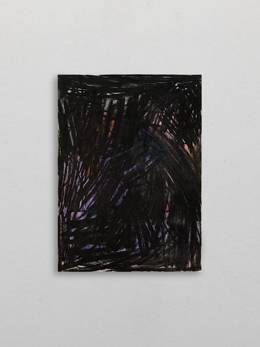 Pneuma, Pastell und Holzkohle auf Papier, 42x30cm, 2020