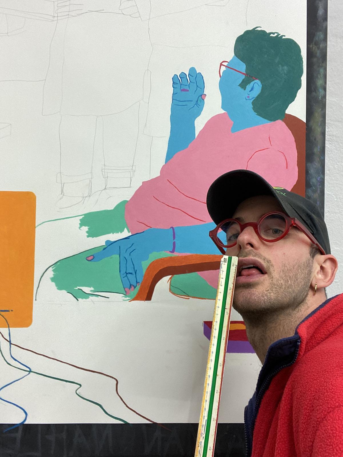 Self Portrait berlin  Navot Miller