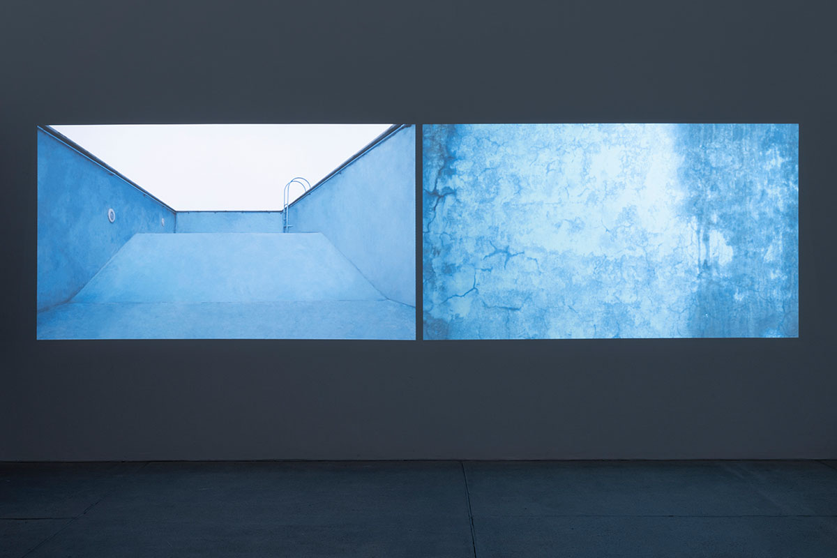 Nazgol Ansarinia, Pools and Voids, 2021. Installation view at Galleria Raffaella Cortese, via Stradella 7, Milan Ph. Lorenzo Palmieri