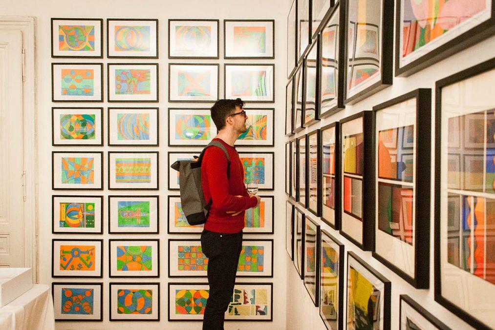 Ausstellung, Farbkompositionen, Philomena Pichler, März 2020