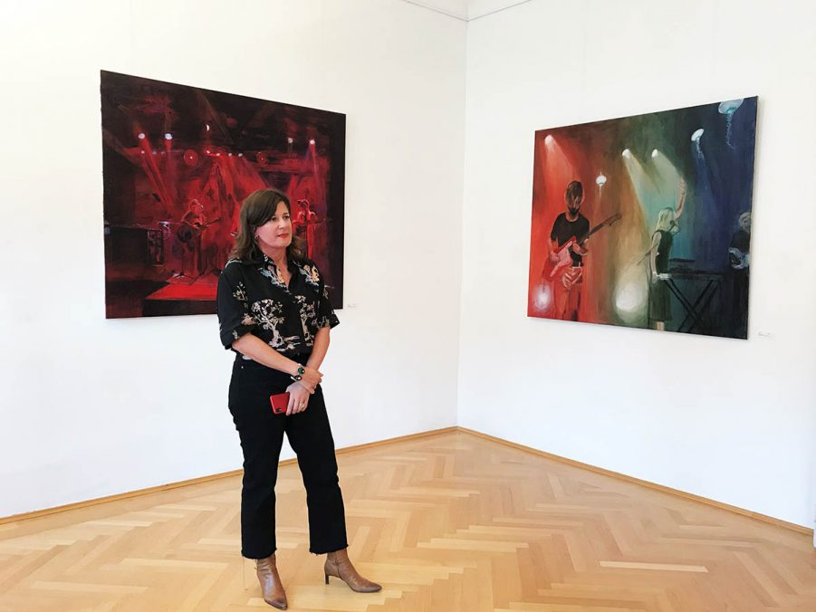 Ausstellung, Paint it loud !, Isolde Tomann, September 2020