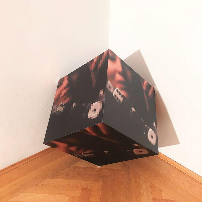 Isabel Belherdis, the big choice, 2020 aus der Ausstellung Wege der Annäherung