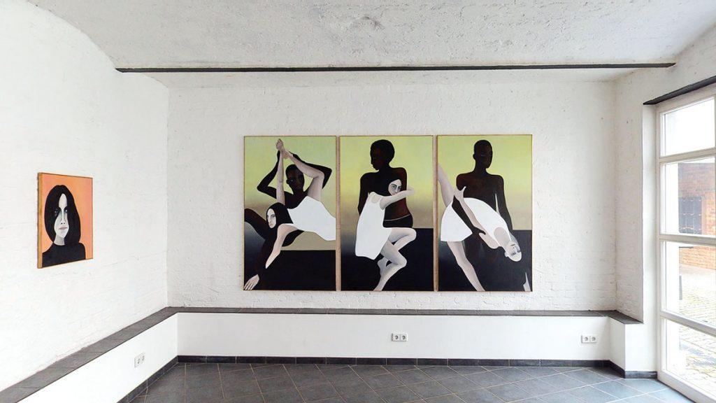 Kristin Hjellegjerde, Berlin. Exhibition Fragments of life