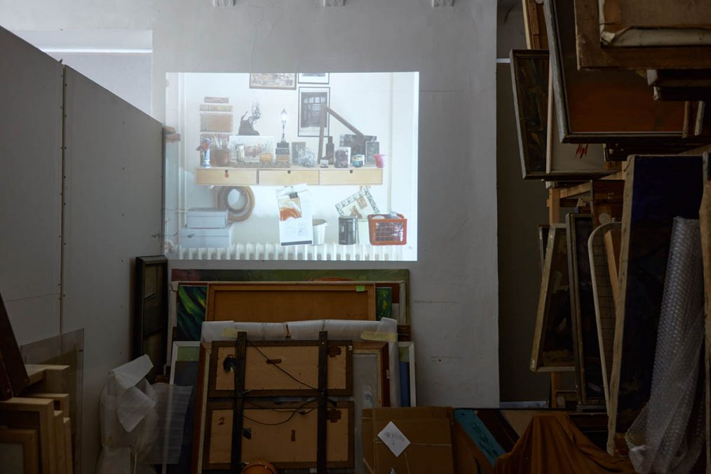 Sári GINK_Memotherapy I._2012, video installation.