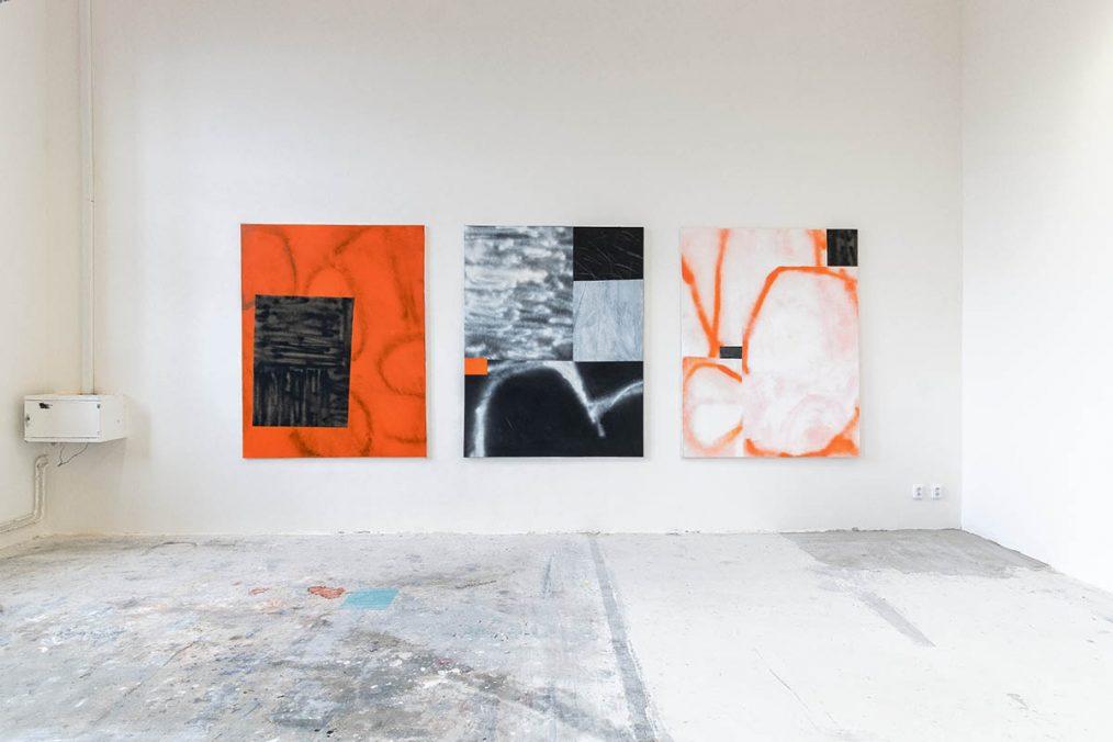 Selected works, Prague 2021 – courtesy of Störung Galerie