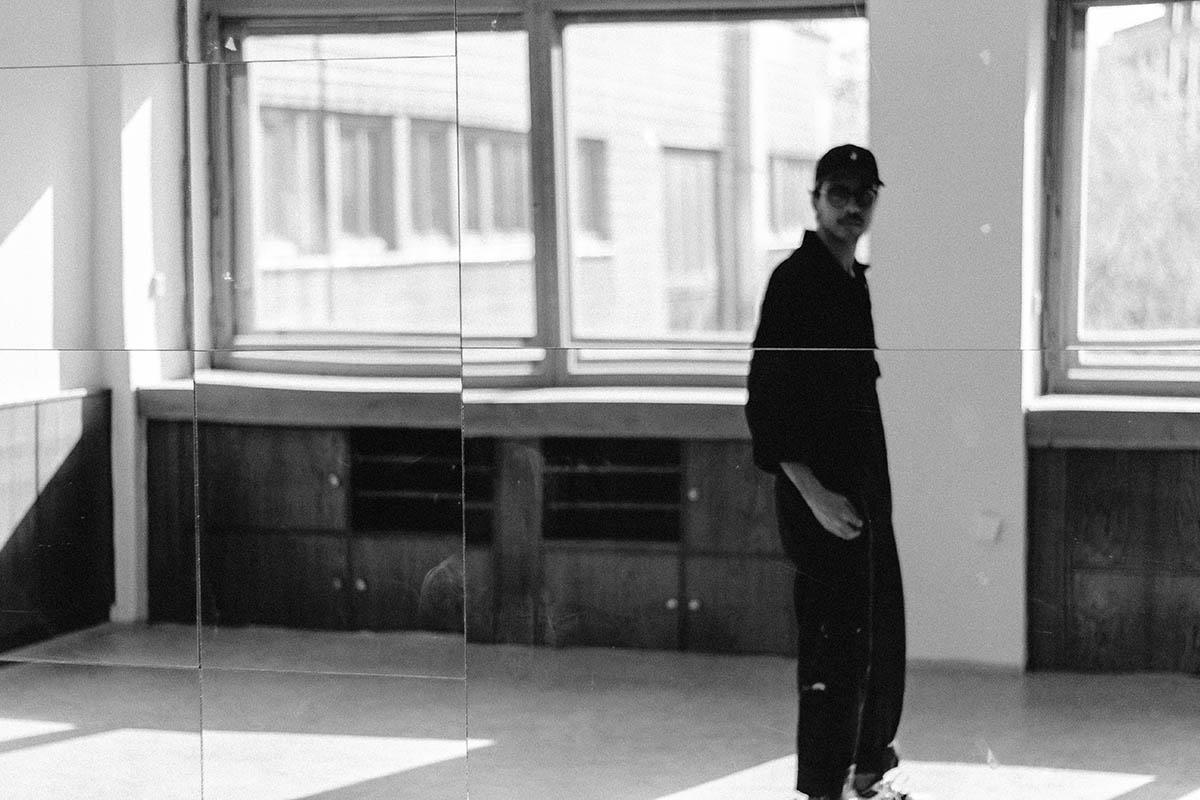 Rodrigo Rosa in his studio, Prague – 2021