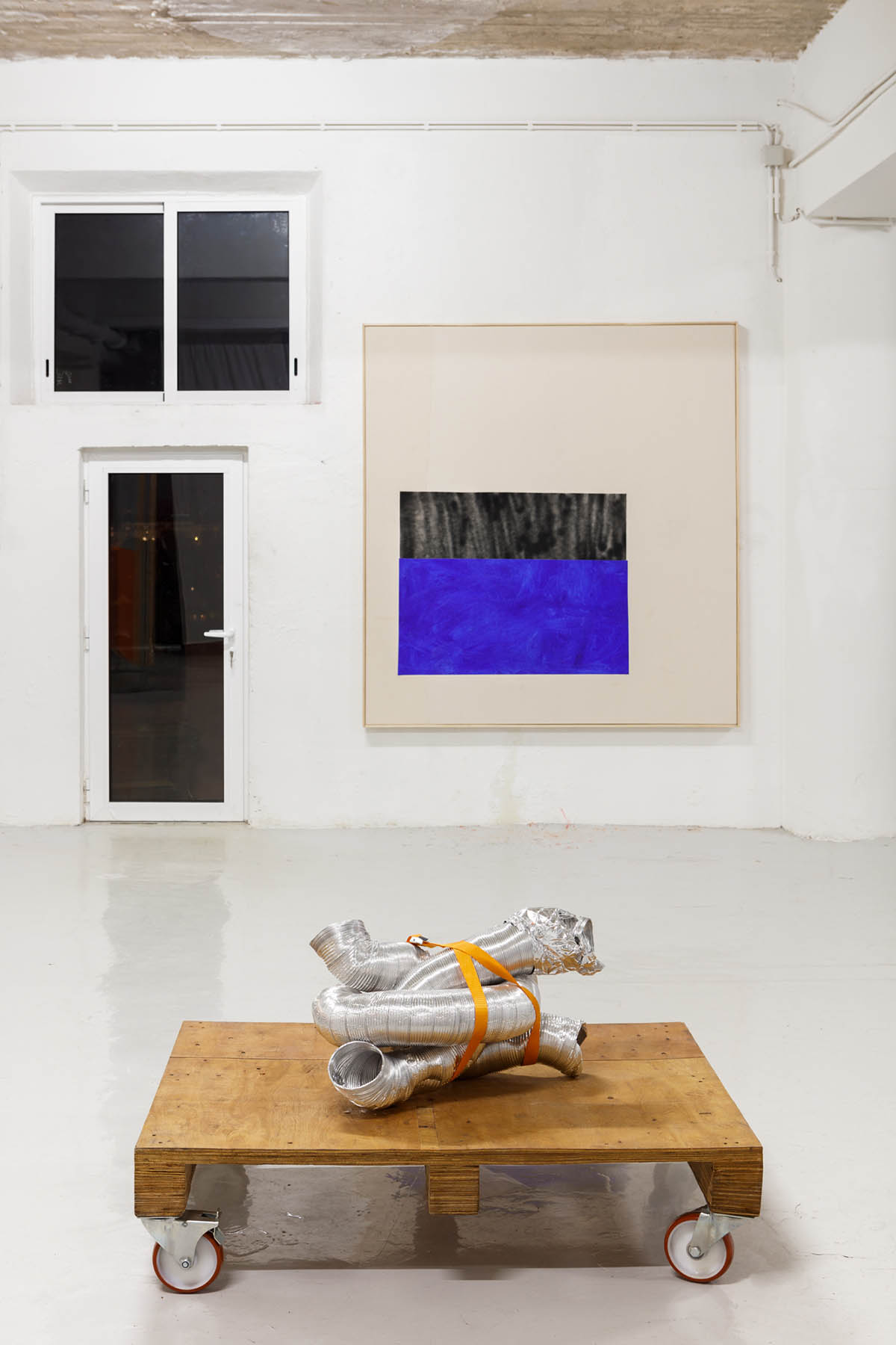 Careful, The Floor is Wet, duo show with Monique Barnett, curated by Aude Vignac, Mono – Lisbon 2021. Photo: Photodocumenta