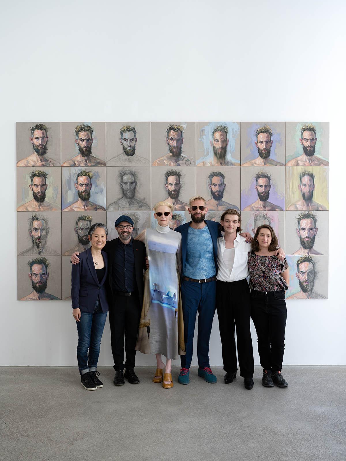 Hana Usui, Marcello Farabegoli, Tilda, Sandro, Luki Wadlinger und Chiara Campanile