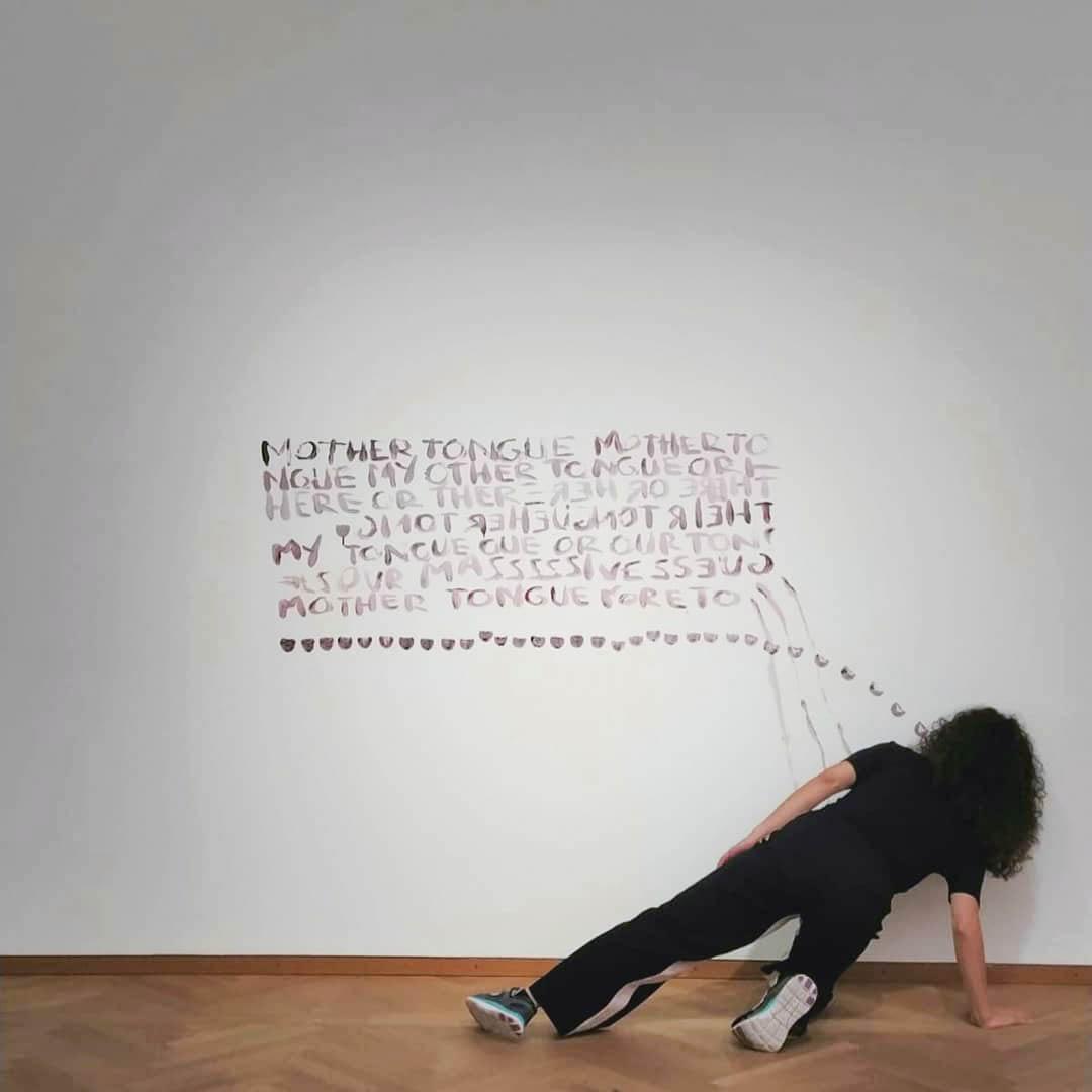 Mother Tongue. Ö1 Talentebörse, Leopold Museum, 2020 Foto: Valeria Lanner