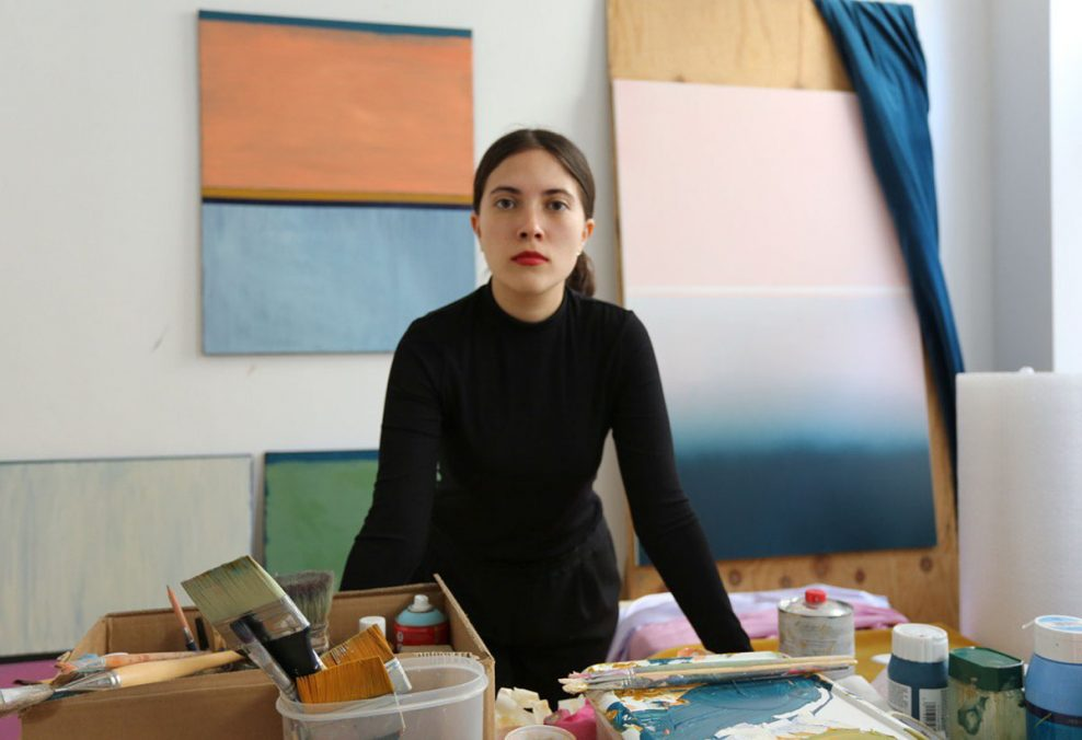 Künstlerin Sofia Cruz Rocha