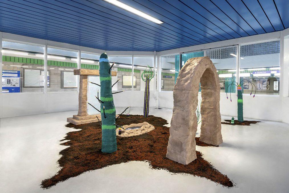 Giovanni Chiamenti, La cerimonia dei misteri, 2020, Exhibition view