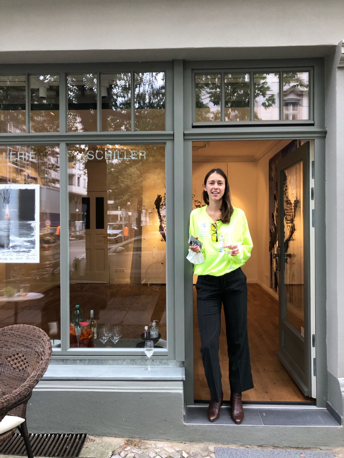 Lina Sophie Stallmann, founder and co-owner of Stallmann Gallery Berlin