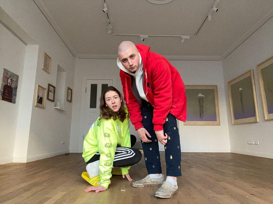 Lina Sophie Stallmann & Daniel Spivakov, founders and owners of Stallmann Gallery Berlin