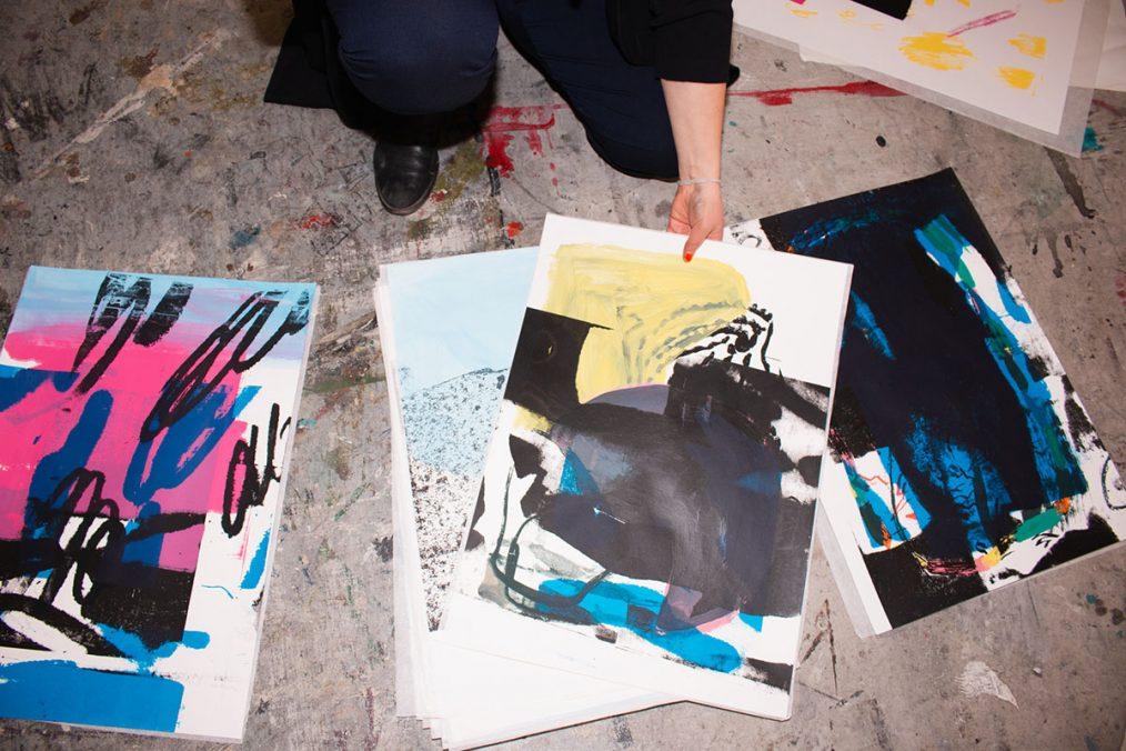 Stefanie Hintersteiner. Atelier Augasse, Foto: Sarah Hauber