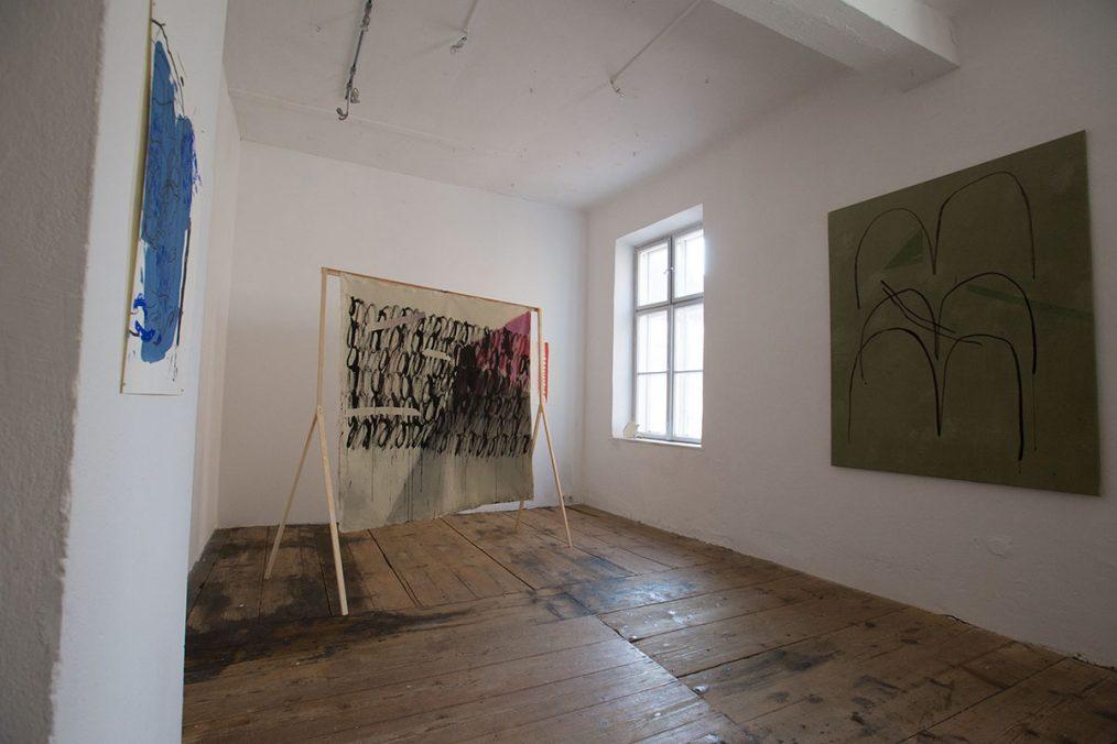 Ausstellungsansicht. Formresonanz, Projektraum Großsiegharts, 2019