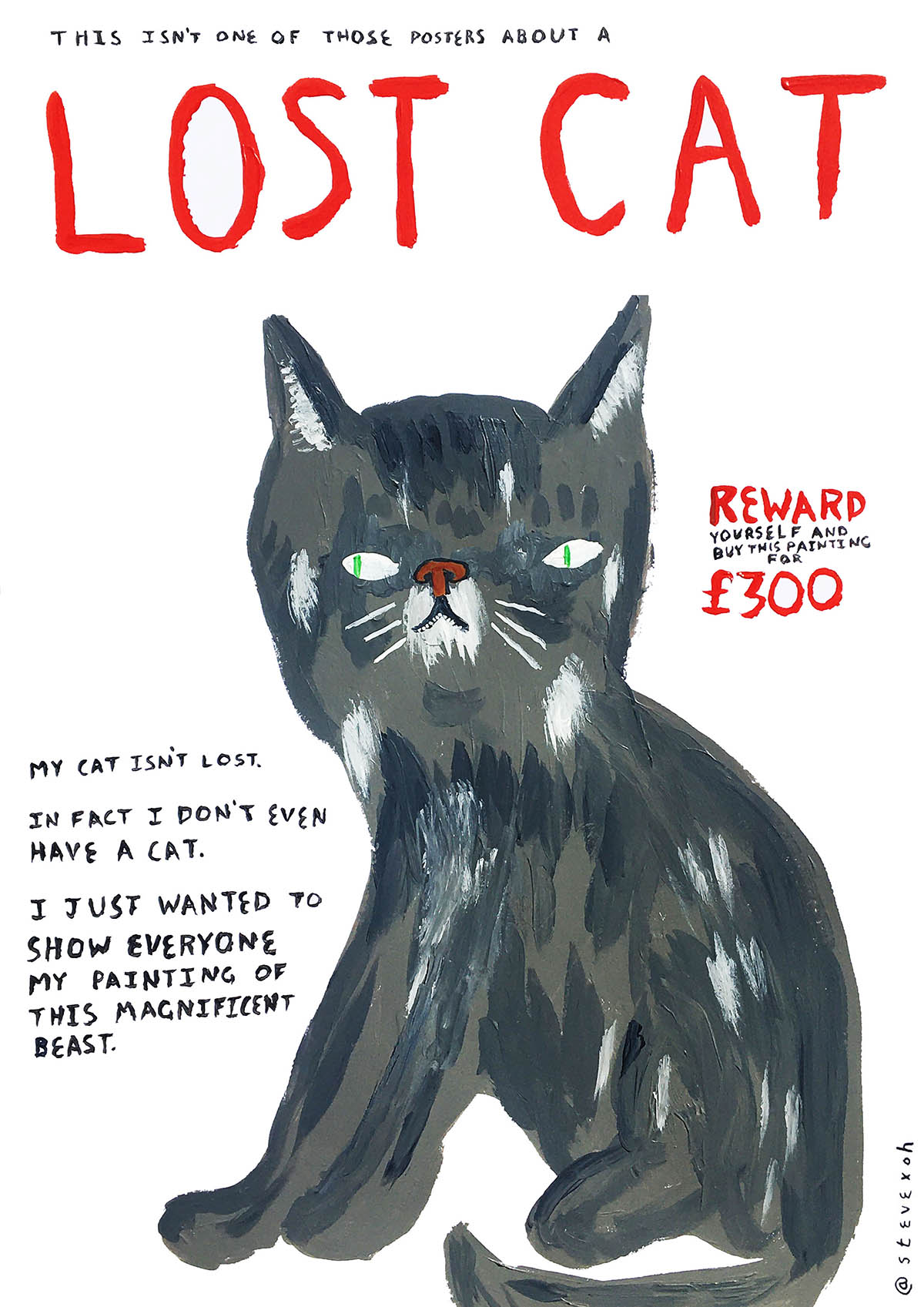 """""""(Not a) Lost Cat"""""""