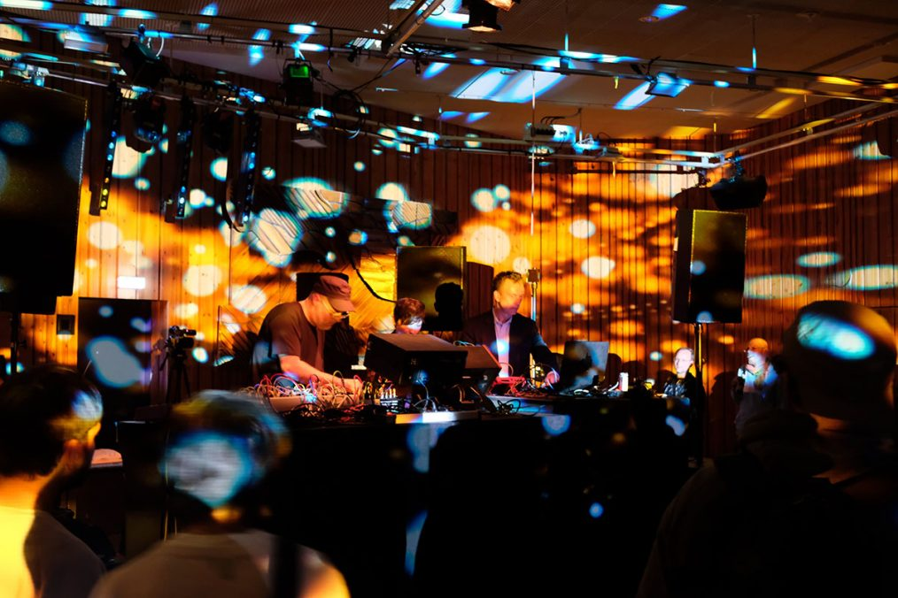 Various moments in Superbooth. Artists performing & events. Photo courtesy Superbooth & Angela Kröll