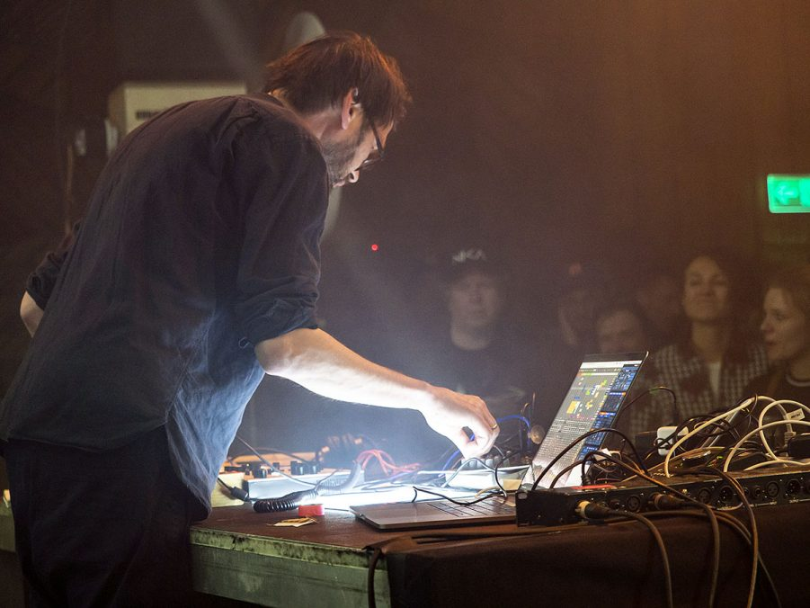 Various moments in Superbooth. Artists performing. Photo courtesy Superbooth & Angela Kröll