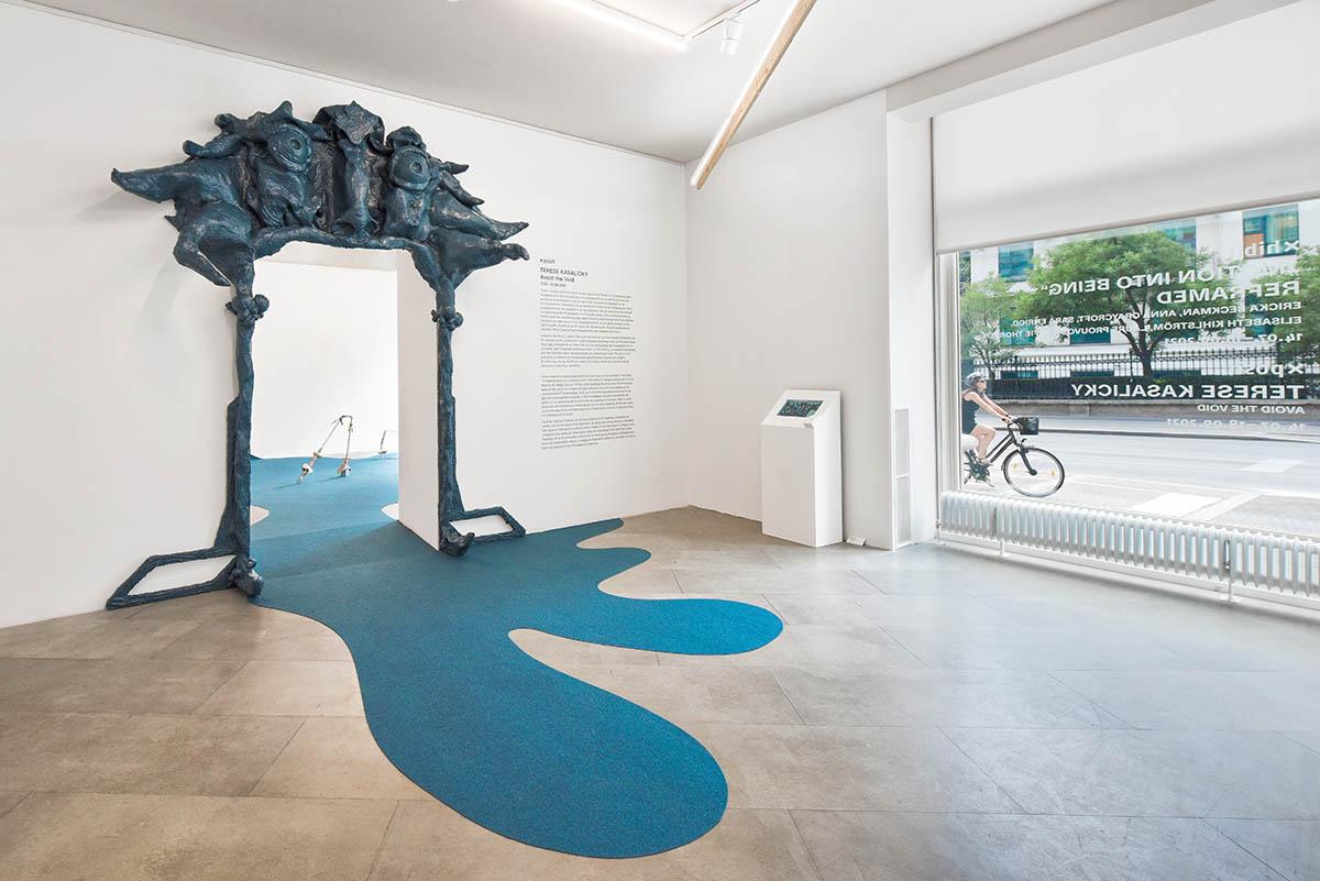 Terese Kasalicky, Avoid the Void, Ausstellungseinblick 2021, (c) the Artist,