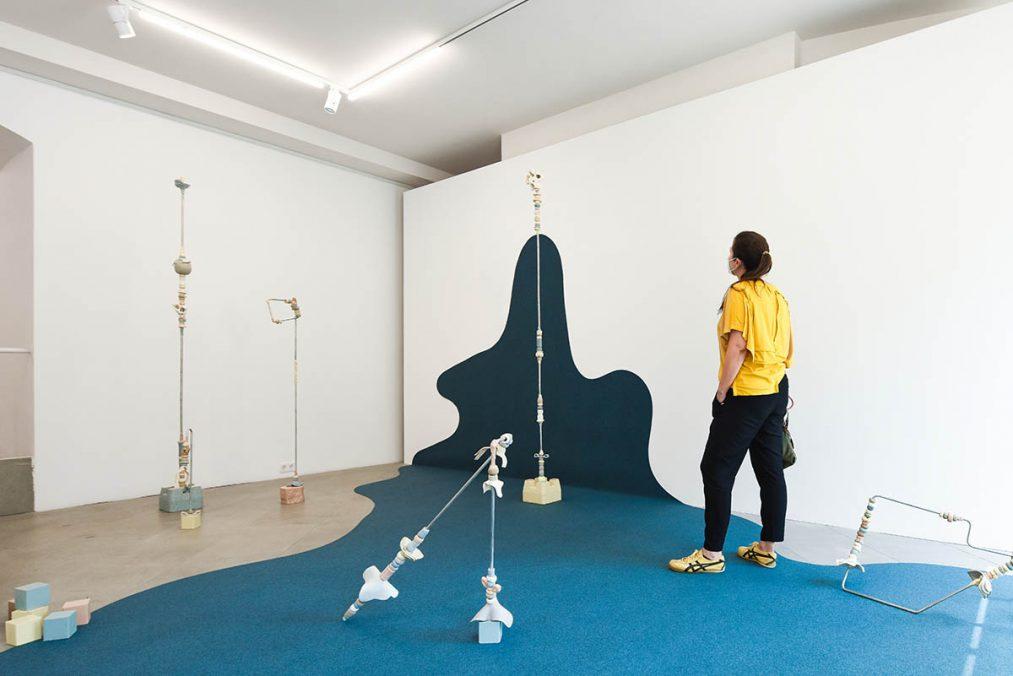 Terese Kasalicky, Avoid the Void, Ausstellungseinblick 2021, (c) the Artist
