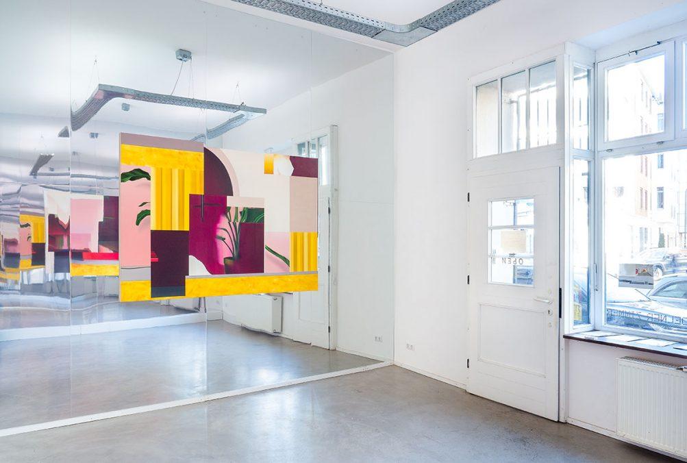 Thorben Eggers, Exhibition view, Separate Reality, Coelner Zimmer, Düsseldorf, 2021. Photo: Thorben Eggers
