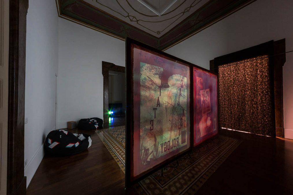 Maxime Rossi, It's a zodiac rain, 2015, exhibition view