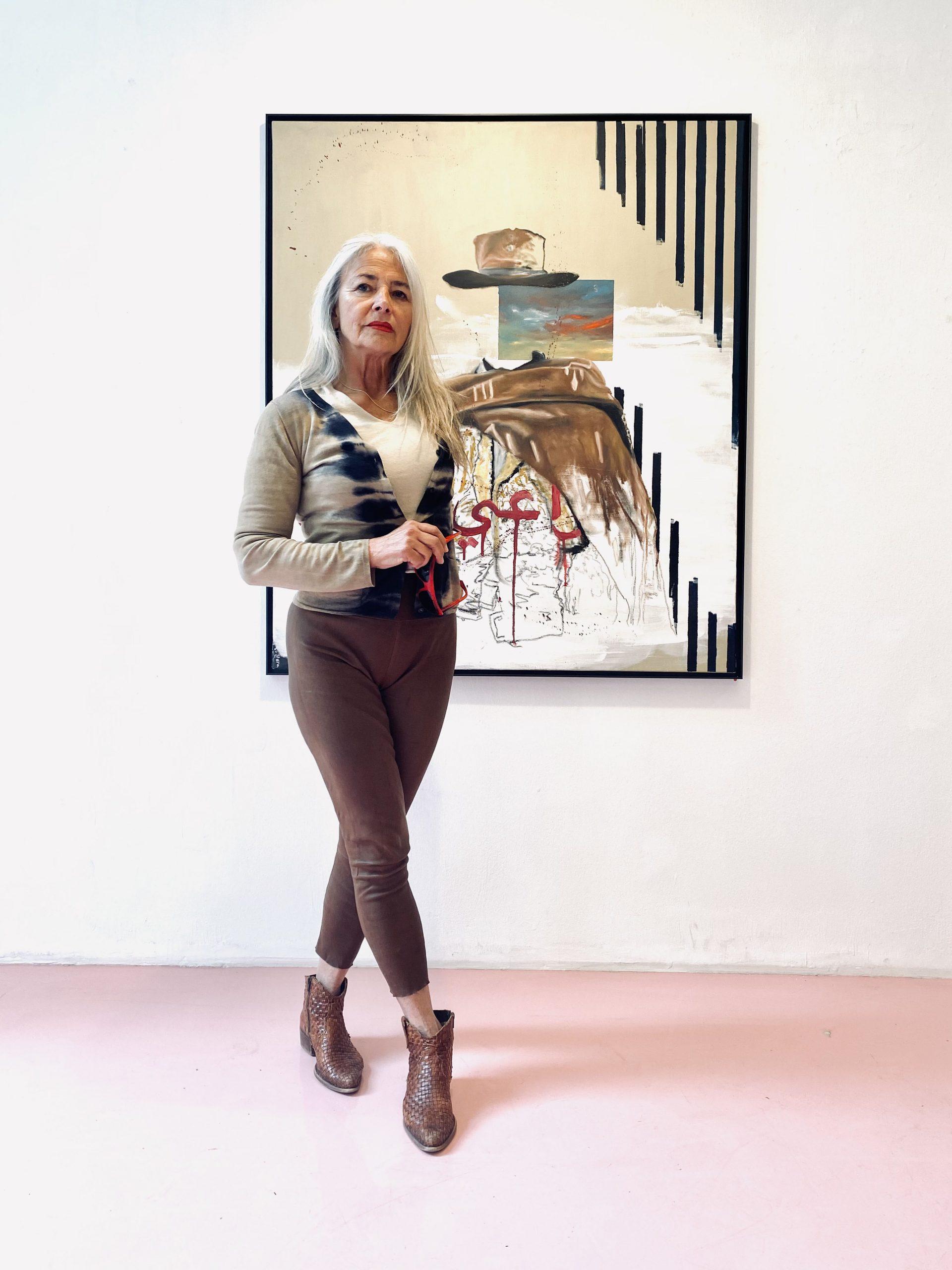 Galeristin. Ursula Stross