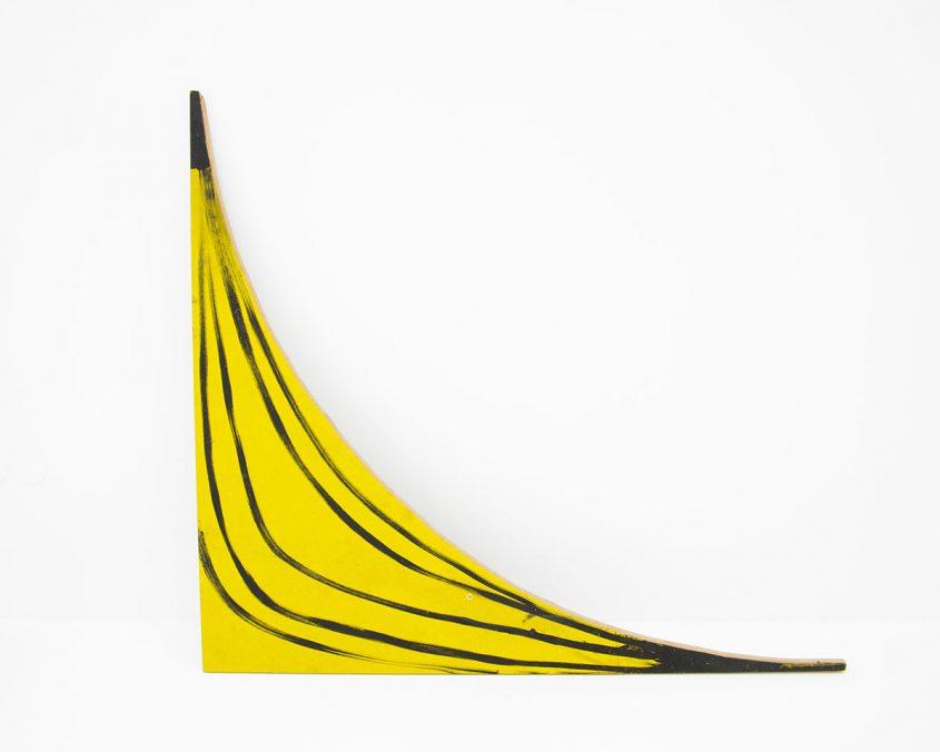 Banane, Acryl auf Holz, 91,5x103,5 cm