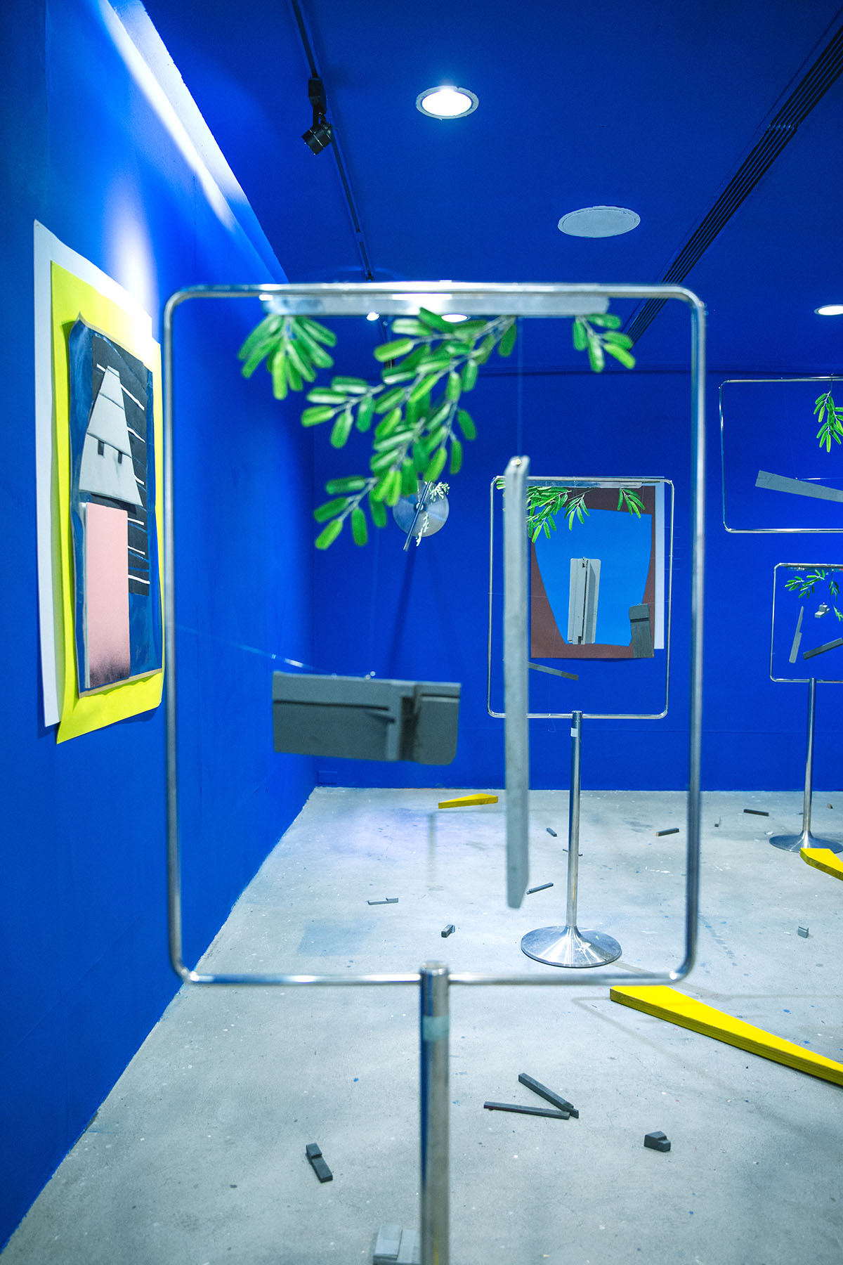 ON DISPLAY (ABORIGINALITY) Various works and materials, Installation view Barry Room, Taipei Artist Village Treasure Hill, Taipei, Taiwan, 2016 ( Foto: Kairon Liu)