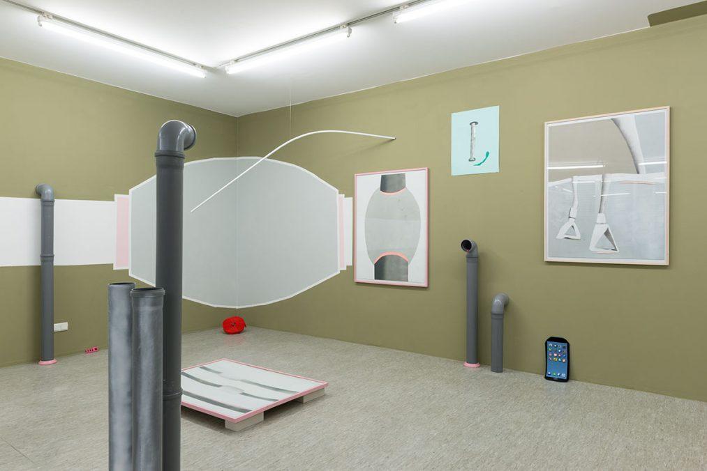 WeChat. nstallation view Oechsner Galerie, Nürnberg (DE). Fotos: Annette Kradisch.