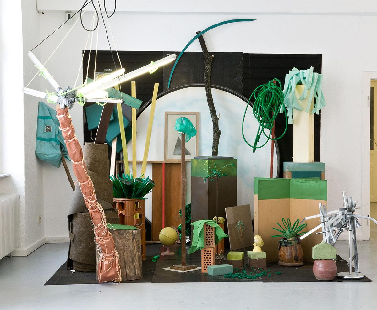 Traurige Tropen. Ausstellungsansicht Kunstverein Ettlingen