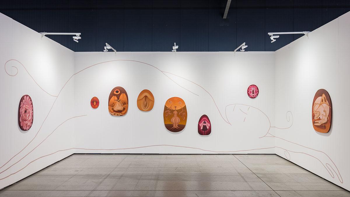 Marianne Vlaschits, winner of Bildrecht SOLO Award 2020, Gallery Sophia Vonier © kunst-dokumentation.com