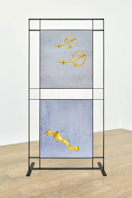 Halle Nord, Exposition Jeanne Tara, Surfaces défendues, Septembre 2021, Photo: Thomas Maisonnasse
