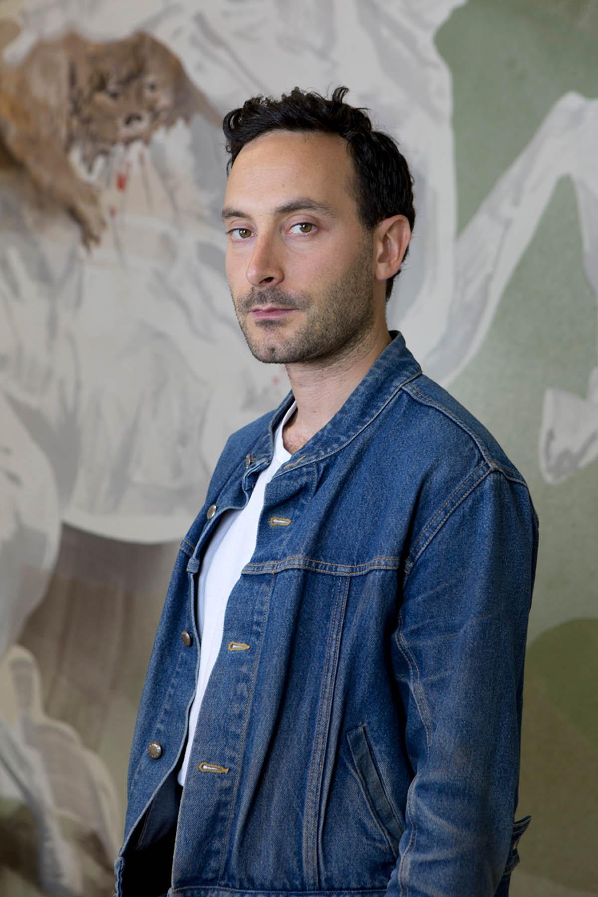 Matthew Lutz-Kinoy. Window to The Clouds; Salon Berlin, Museum Frieder Burda; Courtesy of the artist; Photo: Kamel Mennour, Paris/London